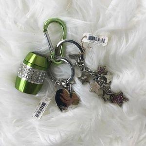 Coach Keychain Bundle